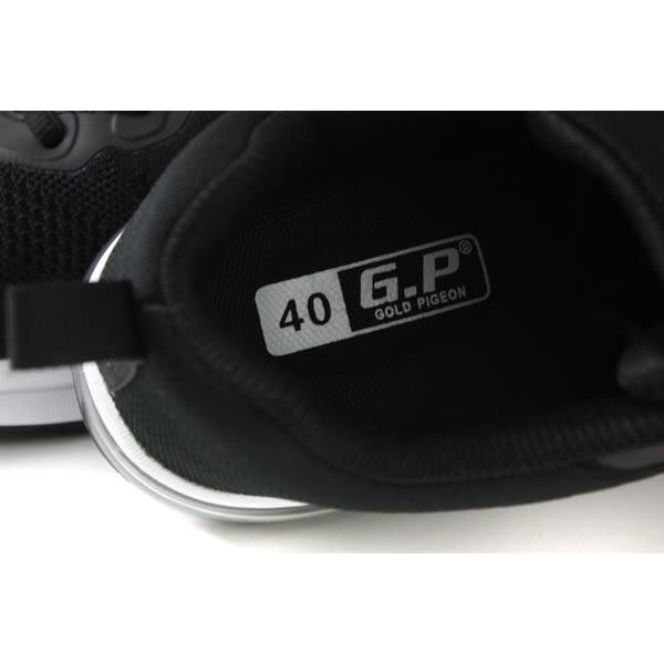 GP (Gold.Pigon) 阿亮代言 運動鞋 黑色 男鞋 P5869M-10 no962