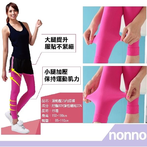 【RH shop】nonno 儂儂褲襪 運動壓力褲 26023