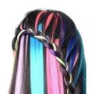 一片式挑染假髮 (一盒12色) 髮片裝扮假髮 尾牙 跨年派對 裝扮 節慶 派對 化妝舞會 角色扮演 cosplay
