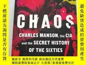 二手書博民逛書店CHAOS罕見CHARLES MANSON THE CIA AN