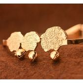 玫瑰金 純銀手環-三隻小綿羊可愛生日聖誕節禮物女飾品71ap74[巴黎精品]