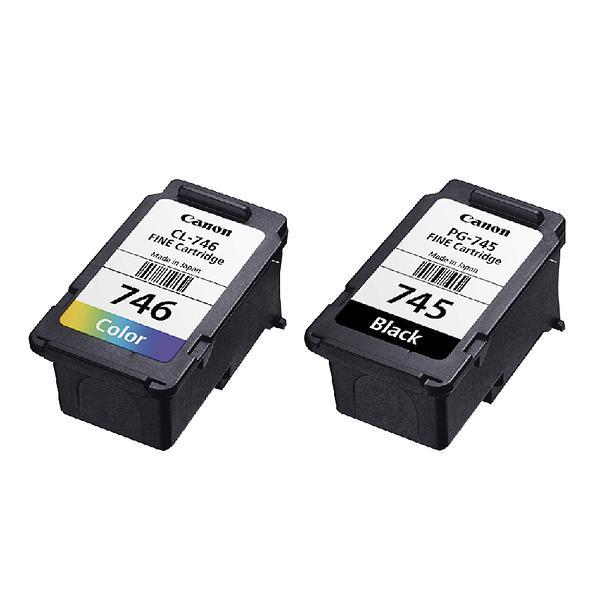 CANON PG-745+CL-746 1黑+1彩 不分售 原廠裸裝墨水匣 適用 MG3070 MG2470 TR4570 MX497