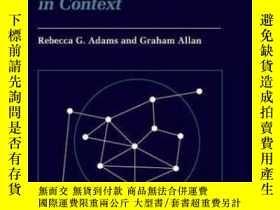 二手書博民逛書店Placing罕見Friendship In ContextY256260 Adams, Rebecca G.