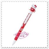 ♥小花花日本精品♥ Hello Kitty 日本 紅色 甜點 蛋糕 下午茶 咖啡杯造型 自動鉛筆 56871401