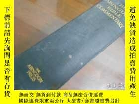 二手書博民逛書店THE罕見ABINGDON BIBLE COMMENTARY(英
