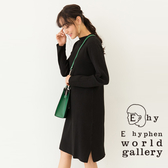 ❖ Hot item ❖ 羅紋微高領針織連身裙 - E hyphen world gallery