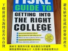 二手書博民逛書店Fiske罕見Guide to Getting into the