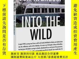 二手書博民逛書店英文原版罕見荒野生存:阿拉斯加之死 Into the Wild