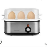 現貨 110V北歐歐慕自動斷電蒸蛋器家用迷妳多功能早餐機煮蛋機煮蛋器 迷你屋 新品