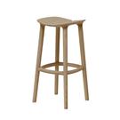 義大利 Mattiazzi MC3 Osso Wooden Barstool 歐索 木質雙瓣 高腳椅(原色橡木/高尺寸)
