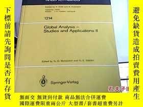二手書博民逛書店global罕見analysis-studies and app