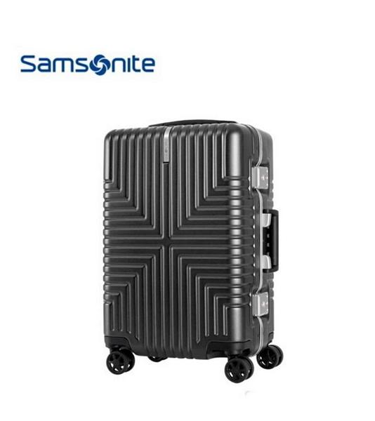 Samsonite 新秀麗 INTERSECT PC鋁框材質 登機箱/行李箱-20吋(黑) GV5