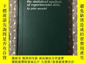 二手書博民逛書店the罕見statististical analysis of