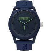 【台南 時代鐘錶 Superdry】極度乾燥 美式和風 文化衝擊潮流腕錶 Tokyo系列 SYG145UU 45mm