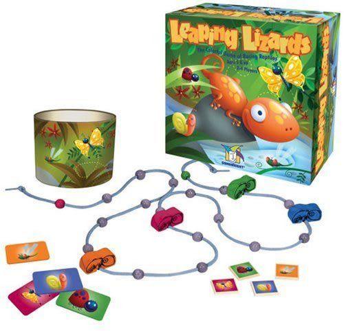 諾貝兒益智玩具 歐美桌遊  Leaping Lizards 蜥蝪尋食 (中文版)