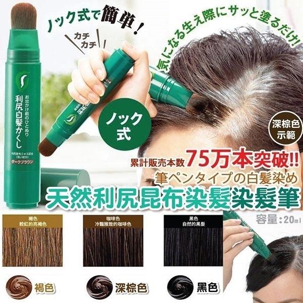 日本Sastty天然利尻昆布染髮染髮筆20ml