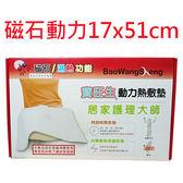 BWS寶旺生(磁石動力)濕熱電毯 YF-1751A濕熱電毯(尺寸17x51cm)