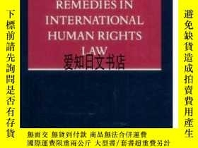二手書博民逛書店【罕見】2001年出版 Remedies In Internat