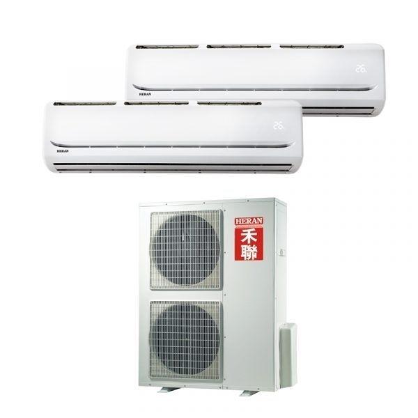 好購物 Good Shopping【HERAN禾聯】約12+12坪 變頻冷專 一對二壁掛式冷氣 HI-C72*2/HO2-C150