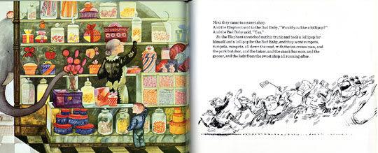 【麥克書店】THE ELEPHANT AND THE BAD BABY /英文繪本+CD 《主題: 禮貌》