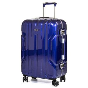 eminent 雅仕 - 鋼鐵亮面風格鋁框PC行李箱28吋暗岩藍
