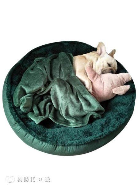 寵物窩 泰迪狗窩中型大型小型犬四季通用夏天可拆洗室內貓窩網紅寵物墊子 YYS【創時代3C館】