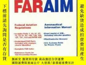 二手書博民逛書店96罕見Faraim: Federal Aviation Regulations Aeronautical Inf