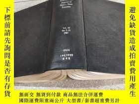 二手書博民逛書店international罕見journal of heat and mass transfer vl.30 7-