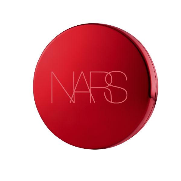 NARS【限量販售】裸光奇肌氣墊粉餅特惠組-限量裸光奇肌氣墊粉盒(霓光炫紅版)+裸光奇肌氣墊粉蕊