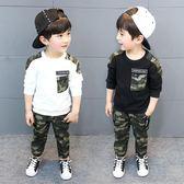 運動套裝男童春裝迷彩日韓兩件兩件式 新主流