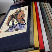 孔子人物畫像捲軸畫 至聖先師 絲綢掛畫 孔夫子掛像 儒家文化禮品igo「韓風物語」igo「韓風物語」