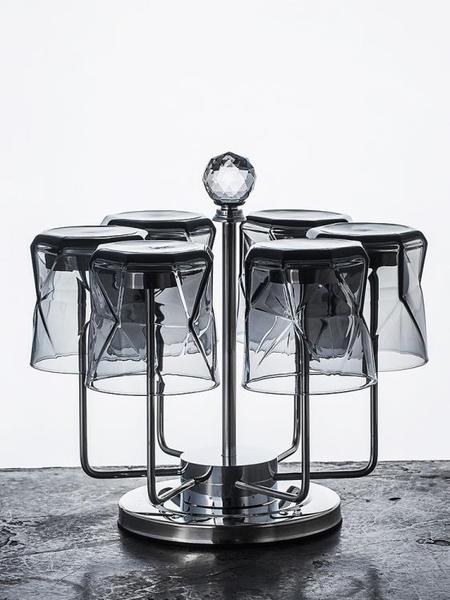 杯架 水杯掛架玻璃杯架瀝水架不銹鋼啤酒杯茶杯收納架創意杯子架