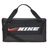 NIKE配件系列-BRSLA S DUFF-9.0 PX GFX SP2 黑色超大容量訓練行李袋 CU9476010