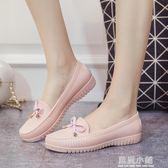 雨鞋女低幫休閒鞋淺口水靴短筒防滑韓國 夏水鞋成人雨靴百搭膠鞋 藍嵐