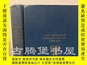 二手書博民逛書店【藏書票】1948年罕見  THE UNITED STATES AND CHINA《美國和中國》,John Kin