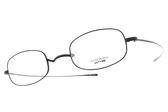 OLIVER PEOPLES 光學眼鏡 TRINITY MBK (黑) 復古金屬細框款 平光鏡框 # 金橘眼鏡