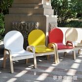 兒童椅子可調節實木兒童椅寶寶凳子嬰兒靠背椅幼兒園小椅子木質-享家生活館 YTL