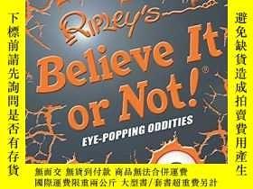 二手書博民逛書店Ripley s罕見Believe It or Not! Eye