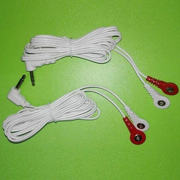 現貨 歐姆龍電極線omron低頻按摩儀貼片連接線HVF128/129/117/127導線 新年禮物