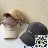 帽子棒球帽女夏天大頭圍薄款韓版鴨舌帽【風之海】