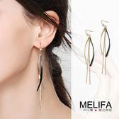 顯臉瘦的耳環女長款流蘇無耳洞耳夾氣質韓國簡約2019新款潮耳墜飾