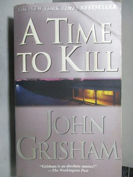 【書寶二手書T9/原文小說_OST】A Time to Kill_John Crisham