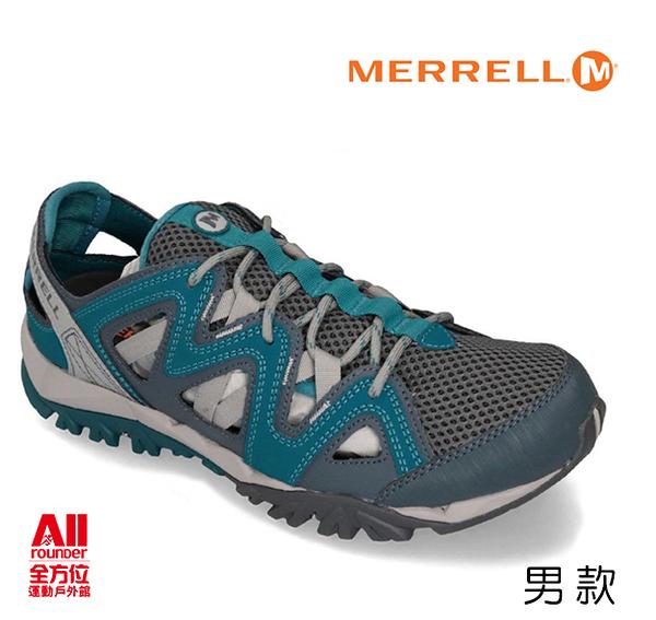 【Merrell】男款戶外鞋 TETREX CREST WRAP - HIKING 郊山健行系列 -藍灰色(48989)【全方位運動戶外館】