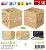 (木棉花)預購:LED木紋鐘-航海王A款(喬)