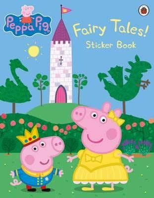 【佩佩豬】PEPPA PIG FAIRY TALES STICKERS BOOK /貼紙書