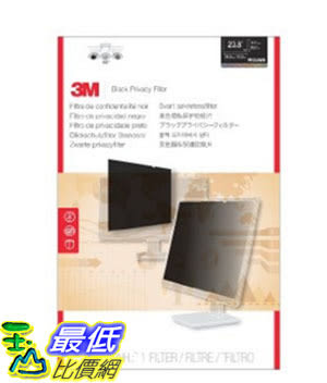 [美國直購] 3M PF23.8W9 螢幕防窺片 Privacy Filter for Widescreen Desktop LCD Monitor 23.8 ,528 mm x 297 mm