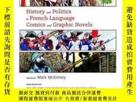 二手書博民逛書店History罕見And Politics In French-language Comics And Graph