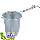 [東京直購] 下村企販 18-8不鏽鋼深型濾茶網/茶漏 22200 日本製 304不鏽鋼