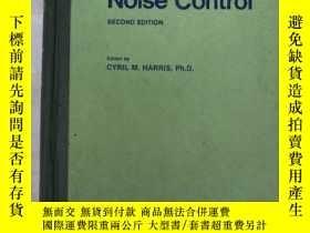 二手書博民逛書店handbook罕見of noise control (H145