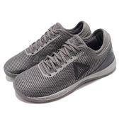 Reebok 訓練鞋 R CrossFit Nano 8.0 灰 健身專用 運動鞋 女鞋【PUMP306】 CN2981